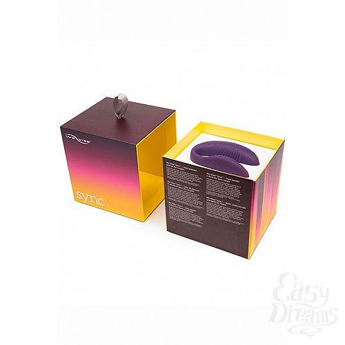 Фотография 6  Фиолетовый вибромассажер для пар We-Vibe SyncPurple на радиоуправлении