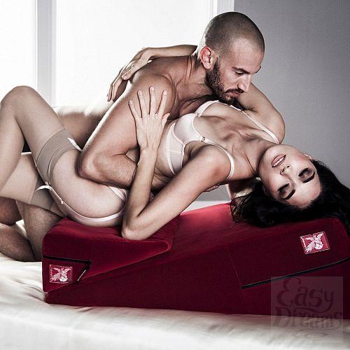 Фотография 4  Фиолетовая подушка для секса из двух частей  Liberator Wedge/Ramp Combo