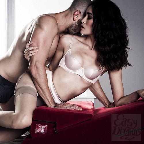 Фотография 5  Фиолетовая подушка для секса из двух частей  Liberator Wedge/Ramp Combo
