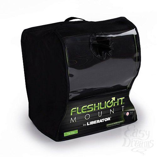 Фотография 2  Чёрная подушка для фиксации мастурбаторов от Fleslight - Liberator Retail Fleshlight Top Dog