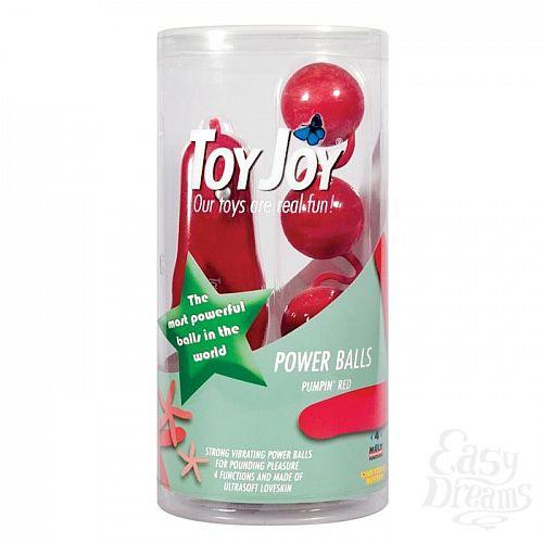 Фотография 2 Toy Joy  Вагинальные шарики с вибрацией Toy Joy Power Balls