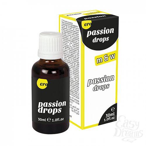Фотография 1:  HOT Production  Капли для мужчин и женщин Passion Drops (m+w) 30 мл 77105-07