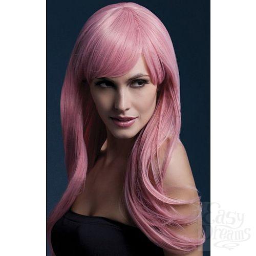 Фотография 1:  Светло-розовый парик Sienna