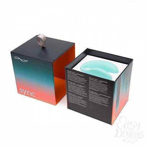 Фотография 7 We-Vibe Инновационный вибратор для пар We-vibe Sync - бирюзовый, Бирюзовый