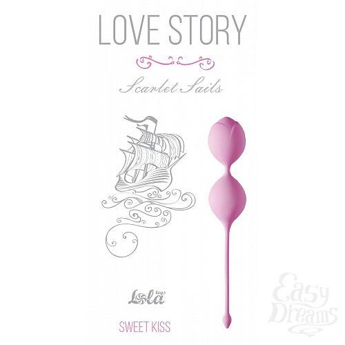 Фотография 1:  Розовые вагинальные шарики Scarlet Sails