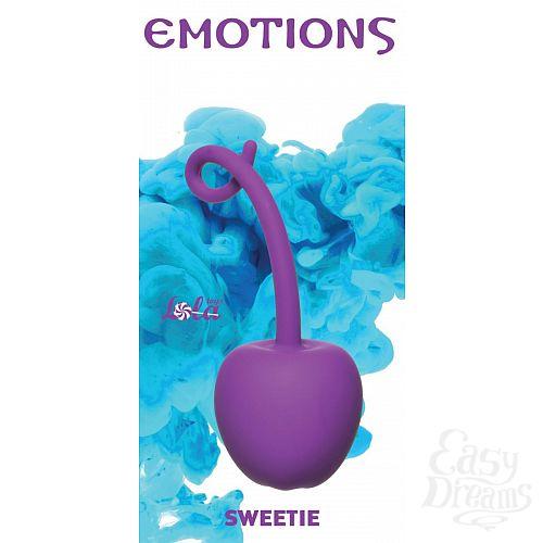 Фотография 1:  Фиолетовый стимулятор-вишенка со смещенным центром тяжести Emotions Sweetie