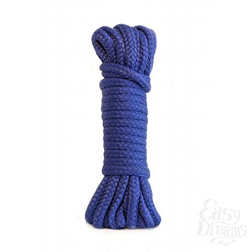 Фотография 1:  Синяя веревка Bondage Collection Blue - 3 м.