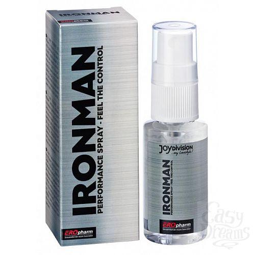 Фотография 1:  Пролонгатор-спрей для мужчин IRONMAN Spray - 30 мл.