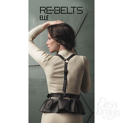 Фотография 1: Rebelts Изящная портупея Elle Black - Rebelts, One Size, Черный