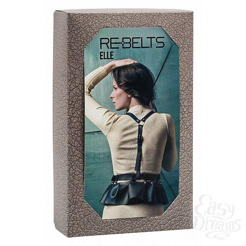 Фотография 3 Rebelts Изящная портупея Elle Black - Rebelts, One Size, Черный