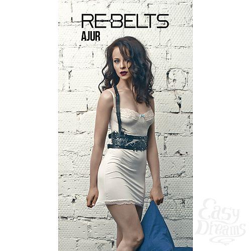 Фотография 1: Rebelts Портупея-пояс Ajur - Rebelts, One Size, Черный
