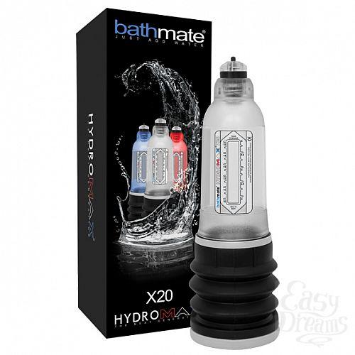 Фотография 2 Bathmate Гидропомпа Bathmate Hydromax X20, Прозрачный