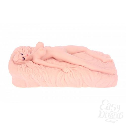 Фотография 4  Мини-кукла с вагиной без вибрации NANCY
