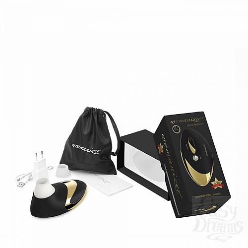 Фотография 4 Womanizer Революционный симулятор орального секса Womanizer W500 Pro - Gold Edition, Черный