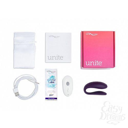 Фотография 7  Фиолетовый вибратор для пар We-Vibe Unite Purple