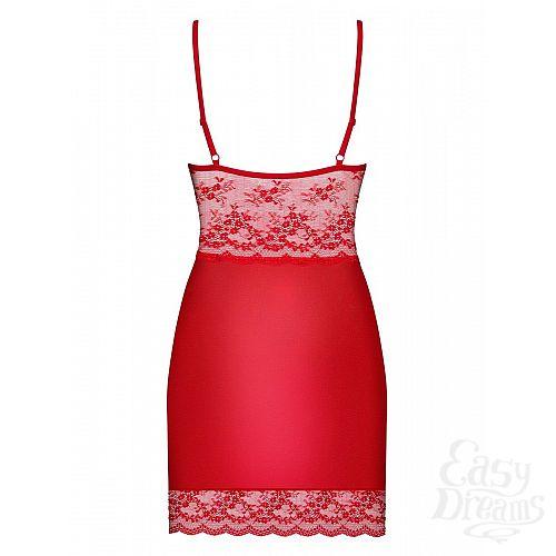 Фотография 4  Облегающая сорочка Lovica с изысканным цветочным узором кружева