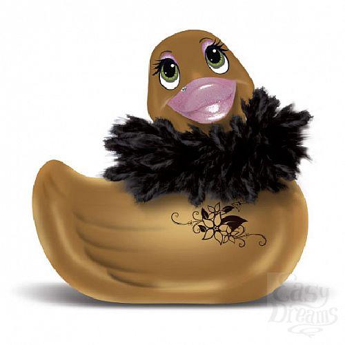 Фотография 1: Big Teaze Toys Массажер-уточка I Rub My Duckie Paris Gold - Big Teaze Toys, Золотой