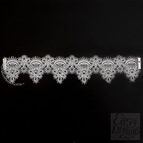 Фотография 1:  Кружевное ожерелье-чокер Delicati pizzi