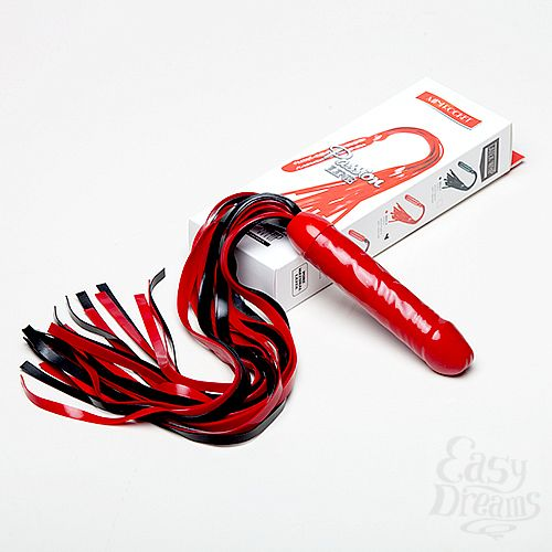 Фотография 1: СК-Визит Плеть мини Ракета цвет: черный/красный