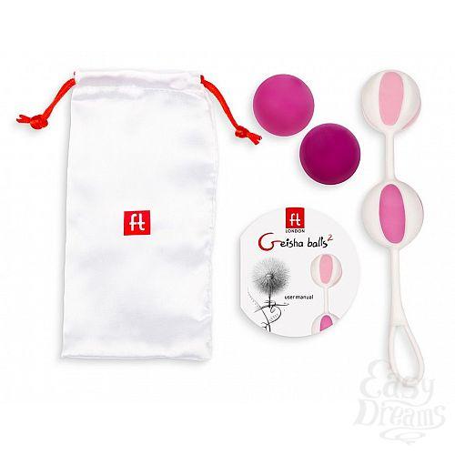 Фотография 2  Розовые вагинальные шарики Geisha Balls 2