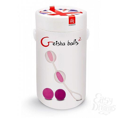 Фотография 3  Розовые вагинальные шарики Geisha Balls 2
