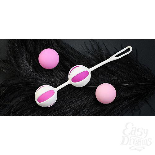 Фотография 6  Розовые вагинальные шарики Geisha Balls 2