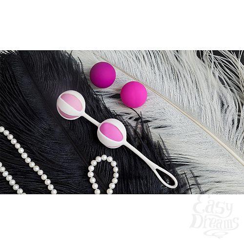 Фотография 7  Розовые вагинальные шарики Geisha Balls 2