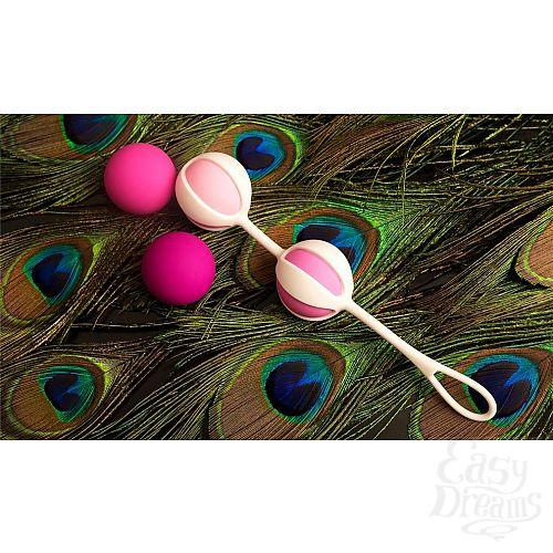 Фотография 8  Розовые вагинальные шарики Geisha Balls 2