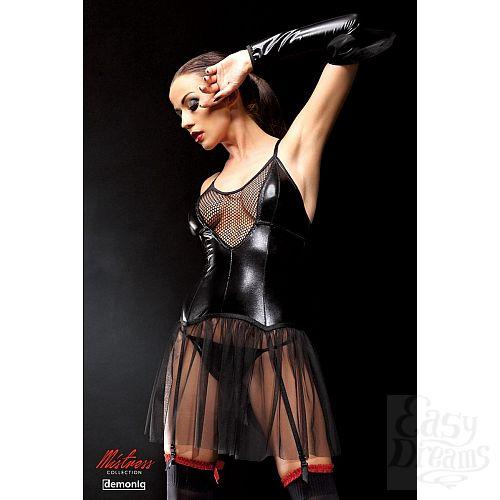 Фотография 1:  Оригинальное платье Yvone с прозрачным подолом