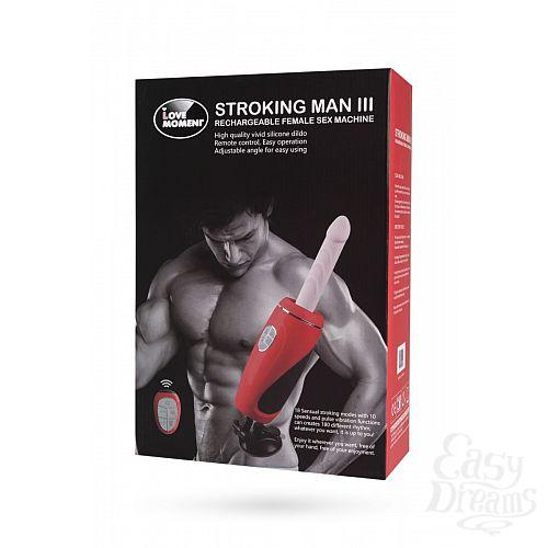 Фотография 3  Секс-машина Stroking Man III с пультом управления и присоской