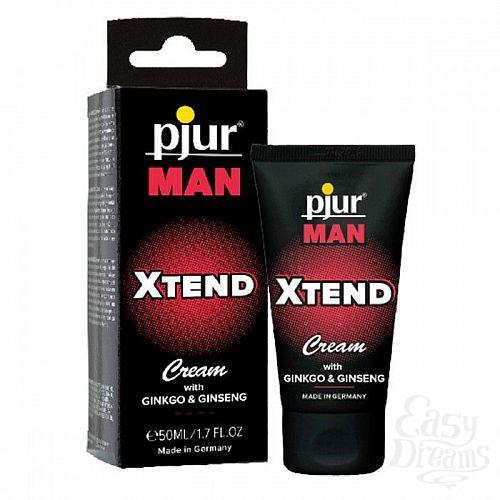 Фотография 1:  Мужской крем для пениса pjur MAN Xtend Cream - 50 мл.
