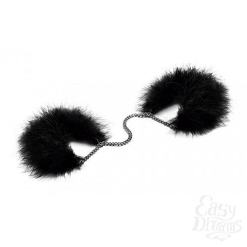 Фотография 1:  Перьевые наручники Za Za Zu Feather Handcuffs Bijoux