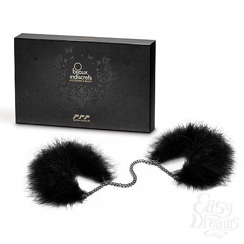Фотография 2  Перьевые наручники Za Za Zu Feather Handcuffs Bijoux