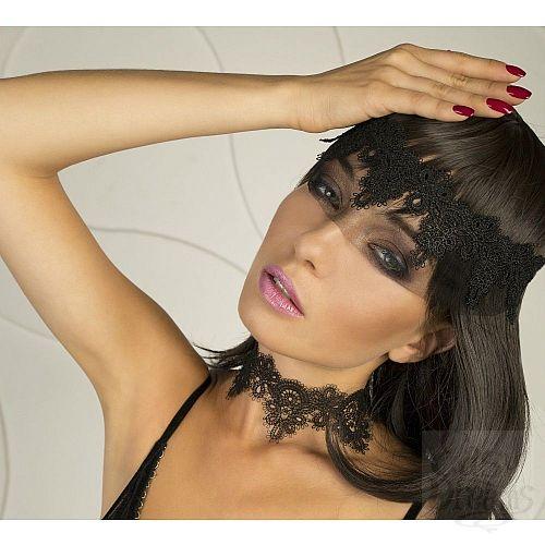 Фотография 3  Ажурное ожерелье-чокер Delicati pizzi