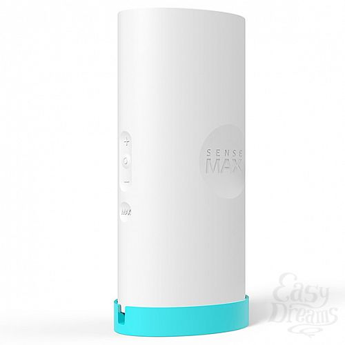 Фотография 1: SenseMax Technology Limited Мастурбатор с вибрацией Sensetube - белый, 19 см, Белый