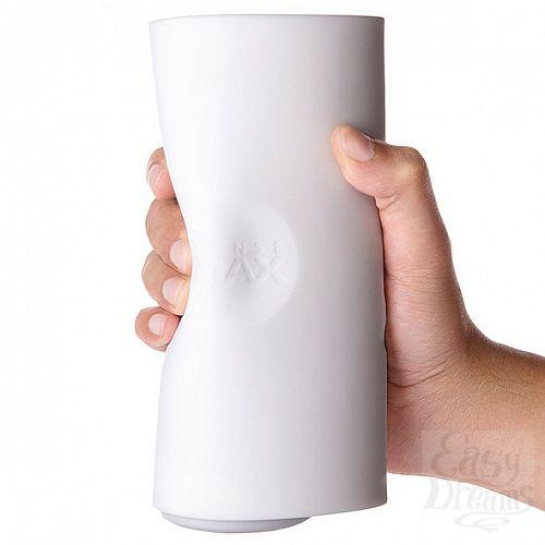 Фотография 7 SenseMax Technology Limited Мастурбатор с вибрацией Sensetube - белый, 19 см, Белый