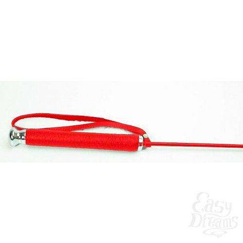 Фотография 3  Красный стек со шлепком в виде сердца - 63,5 см.