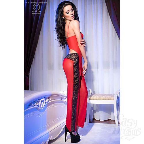 Фотография 1: Chilirose Роскошный комплект с брюками Chilirose, S/M, Красный