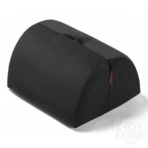 Фотография 1:  Чёрная подушка для секса BonBon Toy Mount Black