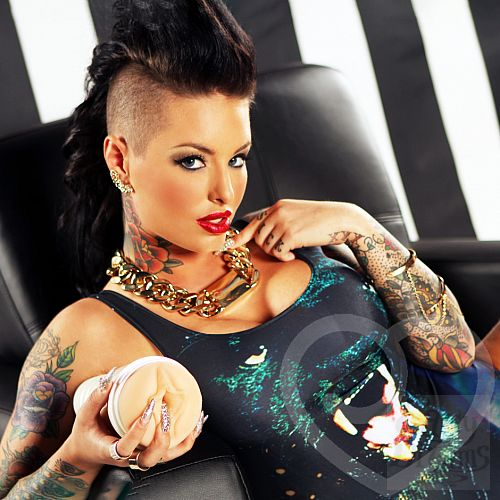 Фотография 4 Fleshlight Реалистичный мастурбатор Christy Mack Attack Fleshlight girls, 25 см, Телесный
