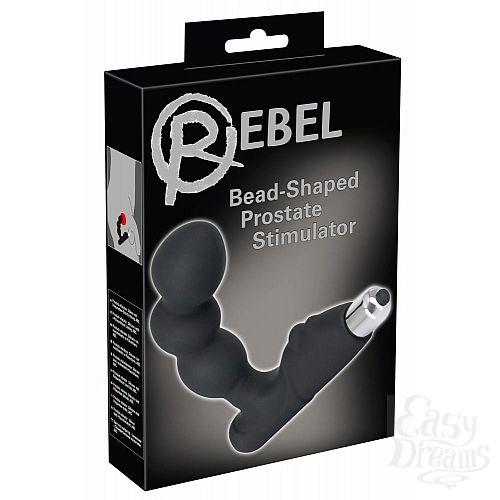 Фотография 4  Стимулятор простаты с вибрацией Rebel Bead-shaped Prostate Stimulator