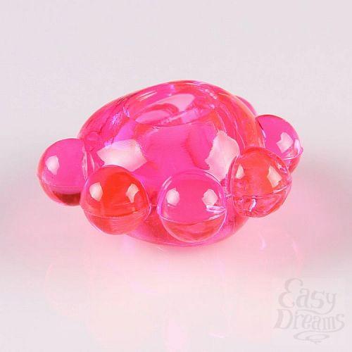 Фотография 2  Розовое эрекционное колечко  Цветок