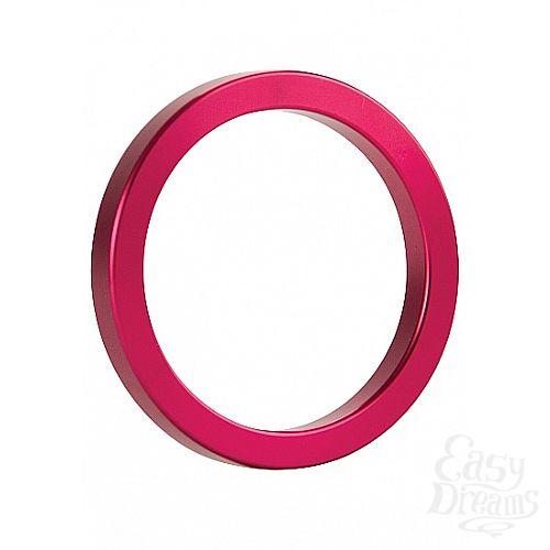 Фотография 1: Shotsmedia Эрекционное кольцо Metal Pink (size M) SH-OU013PNK
