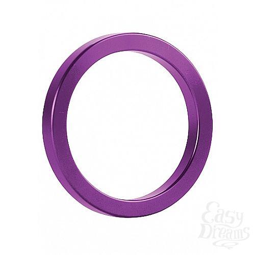 Фотография 1: Shotsmedia Эрекционное кольцо Metal Purple (size M) SH-OU013PUR