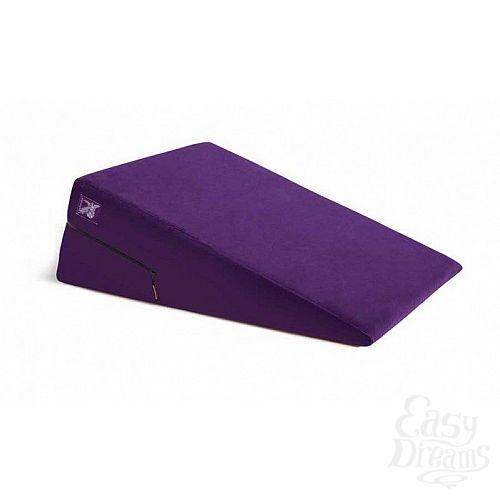 Фотография 1:  Фиолетовая подушка для любви Liberator Retail Ramp