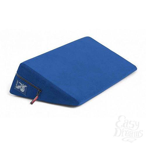 Фотография 1:  Синяя малая подушка для любви Liberator Retail Wedge
