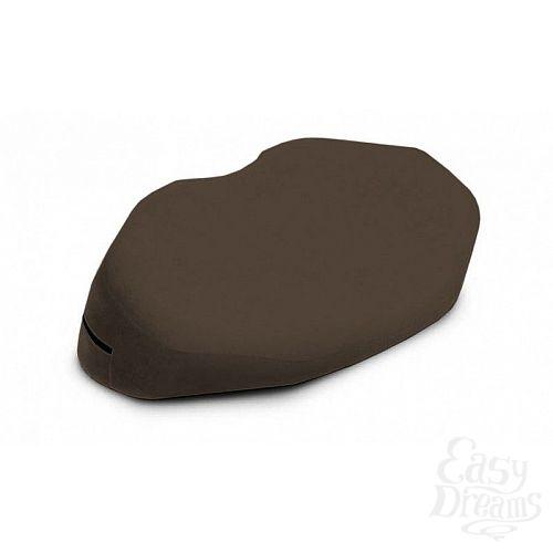 Фотография 1:  Кофейная вельветовая подушка для любви Liberator Retail Arche Wedge