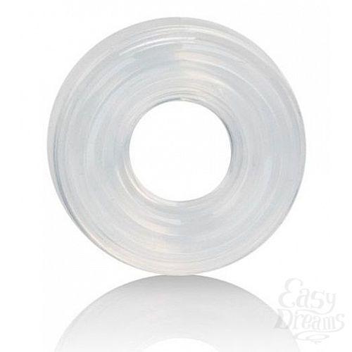 Фотография 1:  Прозрачное эрекционное кольцо Premium Silicone Ring Medium