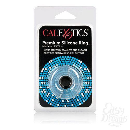Фотография 3  Прозрачное эрекционное кольцо Premium Silicone Ring Medium