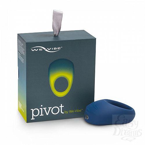 Фотография 5  Синее эрекционное виброкольцо We-vibe Pivot